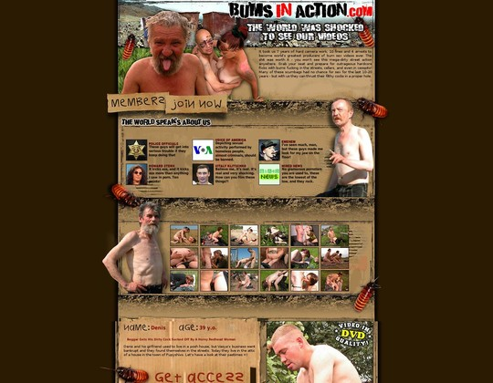 bums in action bumsinaction.com