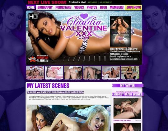 claudia valentine xxx claudiavalentinexxx.com