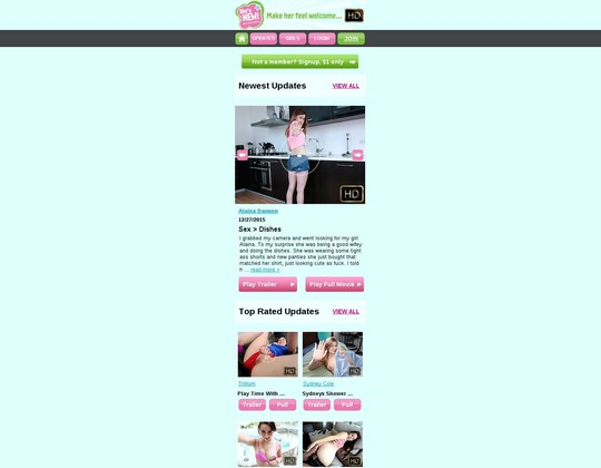 she's new mobile m.shesnew.com
