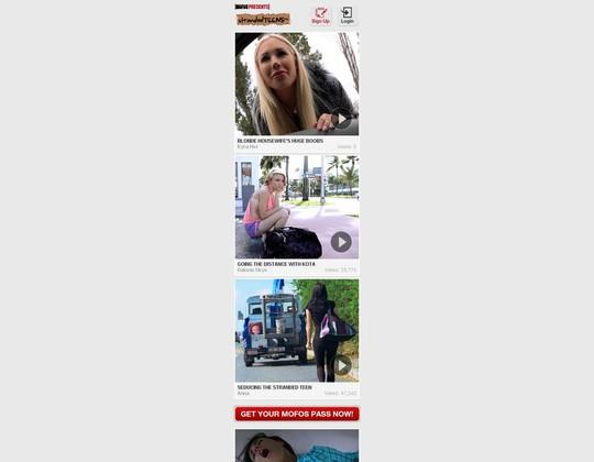 stranded teens mobile m.strandedteens.com