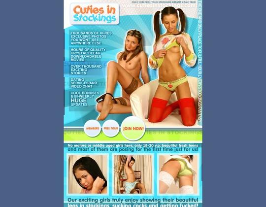 cutiesinstockings.com cutiesinstockings.com